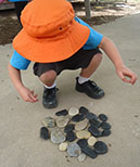 Outdoor Learning with Pebbles
